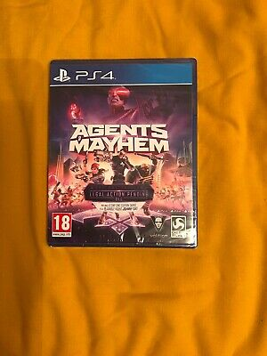 Agents of Mayhem - Day One Edition (PS4)  BRAND NEW AND SEALED
