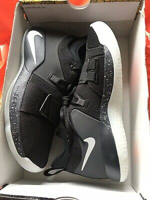 newest 4bff9 190a1 Ds Nike Pg 2.5 Paul George Black Pure Platinum Anthracite Bq8452 004 Us Sz  9.5