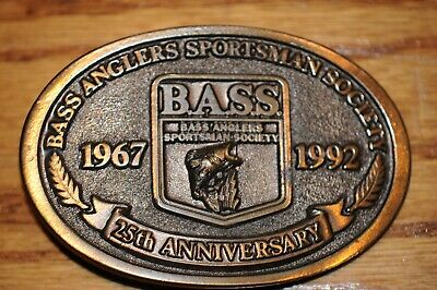 Vintage Fish Belt Buckle Heavy Weight Made In The U.S.A. Bass  Fish 1967 to 1992