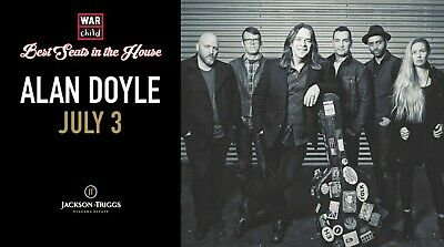 VIP Concert Experience with Alan Doyle - July 3, 2019