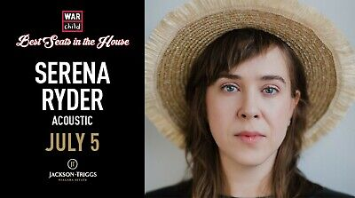 VIP Concert Experience with Serena Ryder - July 5, 2019