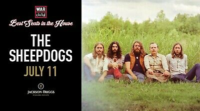 VIP Concert Experience with The Sheepdogs - July 11, 2019