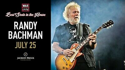 VIP Concert Experience with Randy Bachman - July 25, 2019