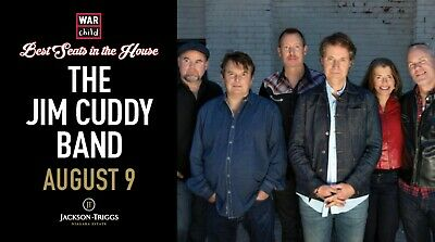 VIP Concert Experience with The Jim Cuddy Band - August 9, 2019