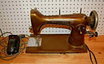Vintage Westinghouse New Home Sewing Machine - Model NLB - Take a L@@K