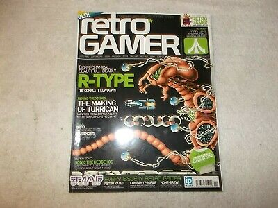 Retro Gamer Magazine Issue Load 21 R-Type Turrican Team 17 Mr Do