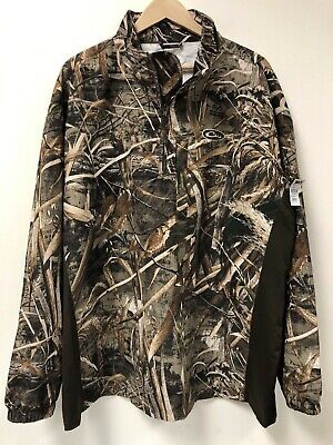 91caf57ecaa79 Drake Waterfowl Systems Mst Endurance 1/4 Quarter Zip Camo Pullover Jacket