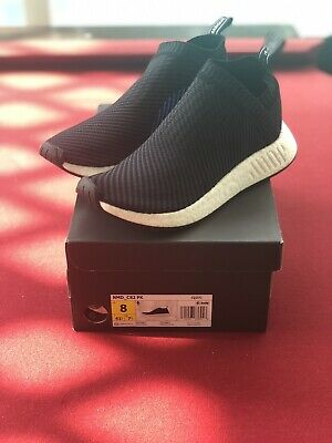 1c7564639fe ADIDAS NMD CS2 PK size 13. Black Red Blue White. CQ2372. primeknit ...