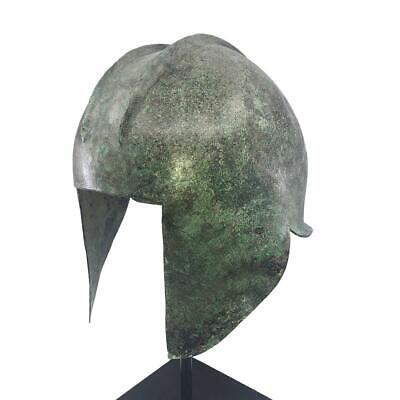 An Illyrian Bronze Helmet, Classical Period, ca. 7th - 5th Century BCE