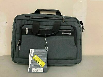 "(9725) Samsonite Modern Utility GT Laptop Briefcase 15.6"" - Gray-"