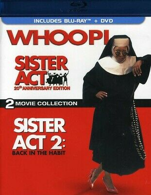 Sister Act/Sister Act 2 [20th (Blu-ray Used Very Good) BLU-RAY/WS/20th Anniv. E