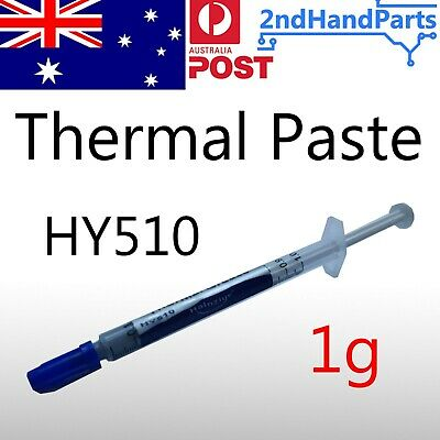 Thermal Paste HY510 1g 10% silver CPU GPU Heatsink Grease Compound