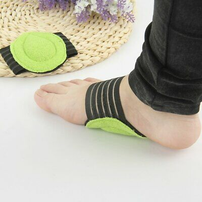 e5c8ad9e21 1 Pairs Fallen Arch Support Cushions Flat Feet Foot Care Pain Relief Wrap  Pads