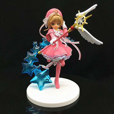 Card Captor Sakura Kinomoto Sakura Clear Card Ver. PVC Figure Toy New IN BOX