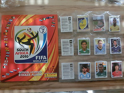 Panini World Cup 2010 Wm 10 * Komplettset Complete Set*Empty Album