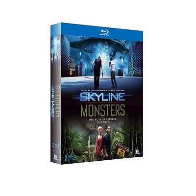 Skyline + Monsters - Coffret Bluray X2 - Neuf Sous Blister