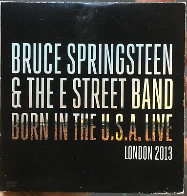 BRUCE SPRINGSTEEN Born In The USA Live London Dvd 2013 RARE