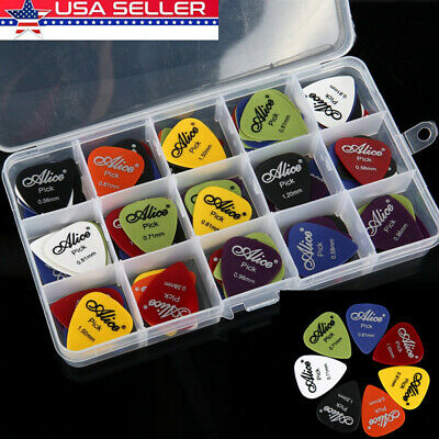 100pc Guitar Pick Classical Folk Acoustic Pick Musical Instrument Accessories-US