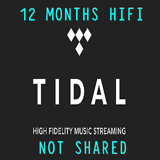 TIDAL Hi-Fi 12 Months (1 YEAR) - FAST DELIVERY