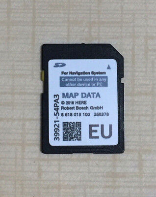 2019 SUZUKI SLDA BOSCH SD CARD MAP EUROPE SX4 S-CROSS, VITARA,990E0-54(P43) new