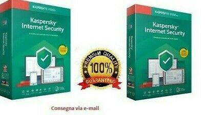 Kaspersky Internet security 2019, 1 PC, 1 Anno, originale (invio via Email)