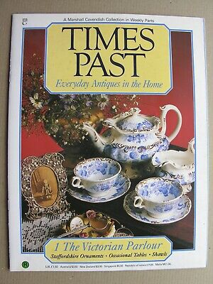 TIMES PAST No 1 Victorian Parlour Staffordshire Ornaments Fireplace Shawls Table