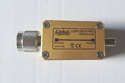 Impedance converter L Band 50 to 75 Ohm