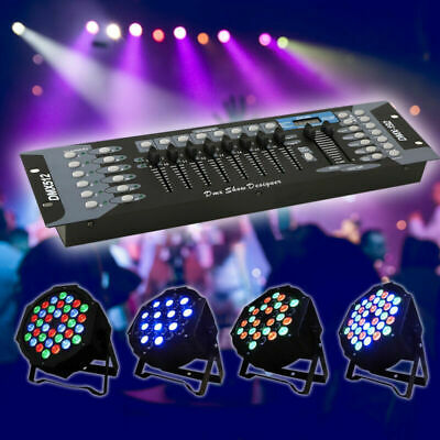 LED DMX 512 192 Channel Console for Stage DJ Party LightLamp Operator Controller
