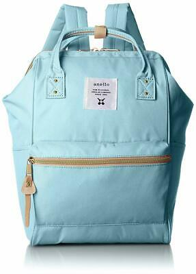anello Small Backpack with side pockets Sax Blue AT-B0197B Japan