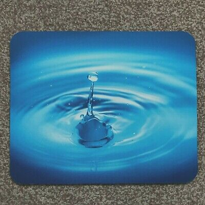 mouse mat desktop laptop mouse pad water droplet made in UK