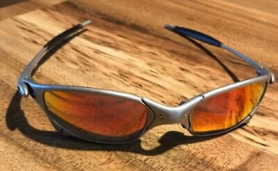 8c6cba5294418 VINTAGE OAKLEY X Metal Juliet Titanium Gold 04-111 Serial Matched ...