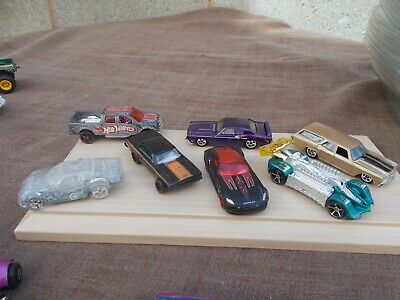 Job Lot Of 7 Assorted Old & New Hot Wheels 6-Used/Mint/Unboxed