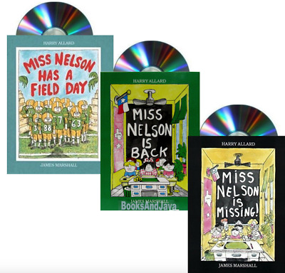 Miss Nelson is Missing,Miss Nelson Is Back,Miss Nelson Has Field Day (Paperback)