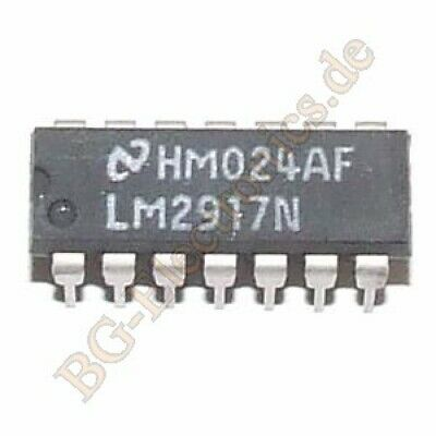 1 x LM2917N Frequency to Voltage Converter LM2917N-14 NS DIP-14 1pcs
