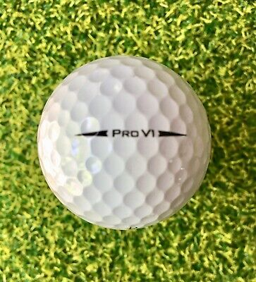 24 Titleist Pro V1 2018 Mint Used Golf Balls AAAAA (5A) Top Quality