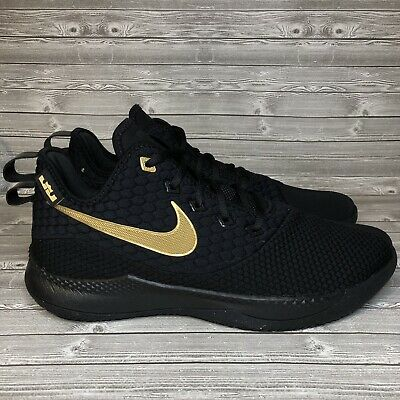 22c7cc6e277f NIKE LEBRON WITNESS 3 III Black Red Bred Mens Basketball Shoes 2018 ...
