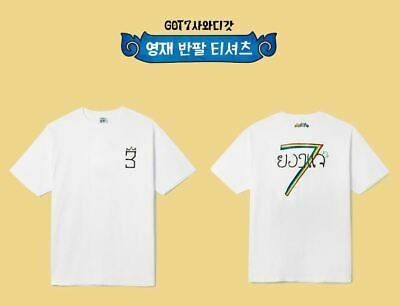 Got7 Got 7 Real Thai Official Goods Youngjae T-Shirt T-Shirts + Photocard New