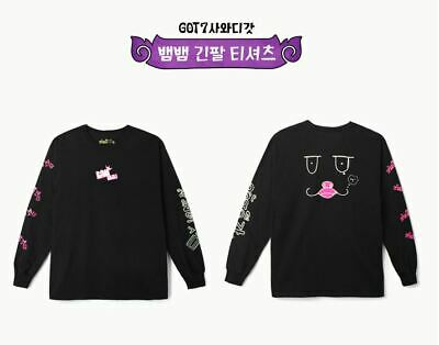 Got7 Got 7 Real Thai Official Goods Bambam Long Sleeve T-Shirts + Photocard New