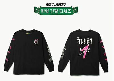 Got7 Got 7 Real Thai Official Goods Jinyoung Long Sleeve T-Shirts + Photocard