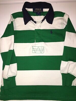 Polo Ralph Lauren Toddler Boys Long Sleeve Polo Rugby Shirt Size 2T