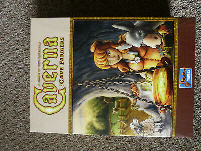 Caverna: The Cave Farmers Board Game with Water Features Expansion