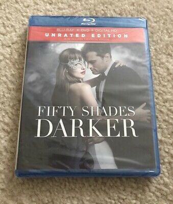 Fifty Shades Darker Blu Ray Romance Dakota Johnson Edition 2017