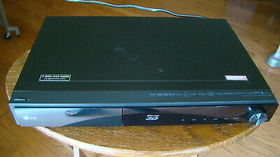 LG LHB336 3D Blu-Ray/DVD Home Theater Receiver Tested Great Working Condition
