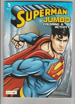 Superman Jumbo Coloring Activity Book Set 400 Pages 15 99 Picclick