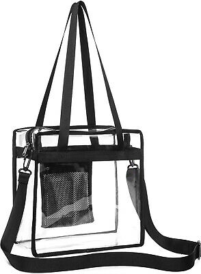 9db247f207c2 ISPECLE CLEAR PURSE Stadium Crossbody Bag Approved for NFL, PGA ...