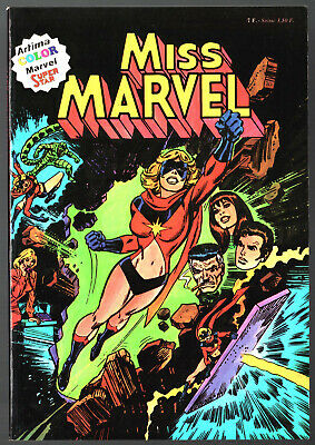 MISS MARVEL n°1 ¤  ¤ 1980 ARTIMA COLOR MARVEL SUPER STAR