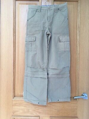🎀 Fat Face Cargo Trousers Age 10