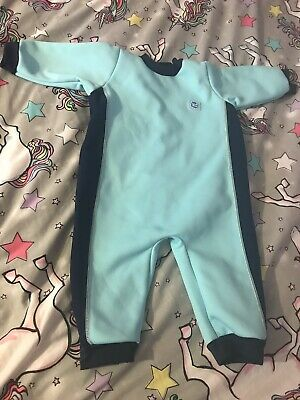 Splash About Babies Warm-in-One Wetsuit 12m -2years. Swimsuit Swim New