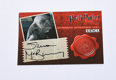 Simon McBurney -Kreacher - Autograph Card - Harry Potter And The Deathly Hallows