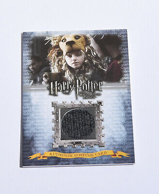 Luna Lovegood -Evanna Lynch - Costume Card - Harry Potter &The Half Blood Prince